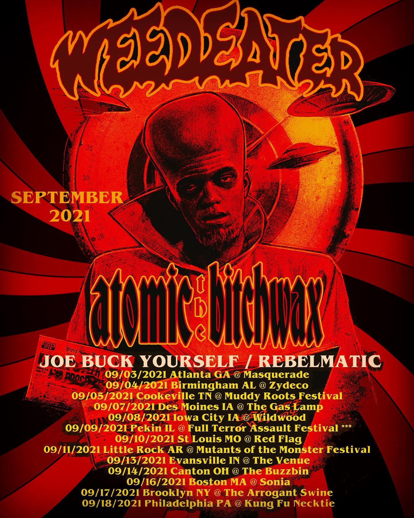 the atomic bitchwax tour