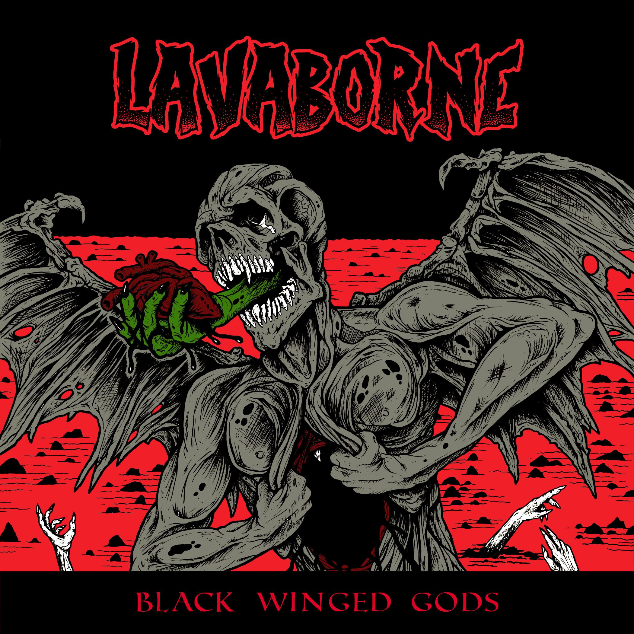 Lavaborne Black Winged Gods