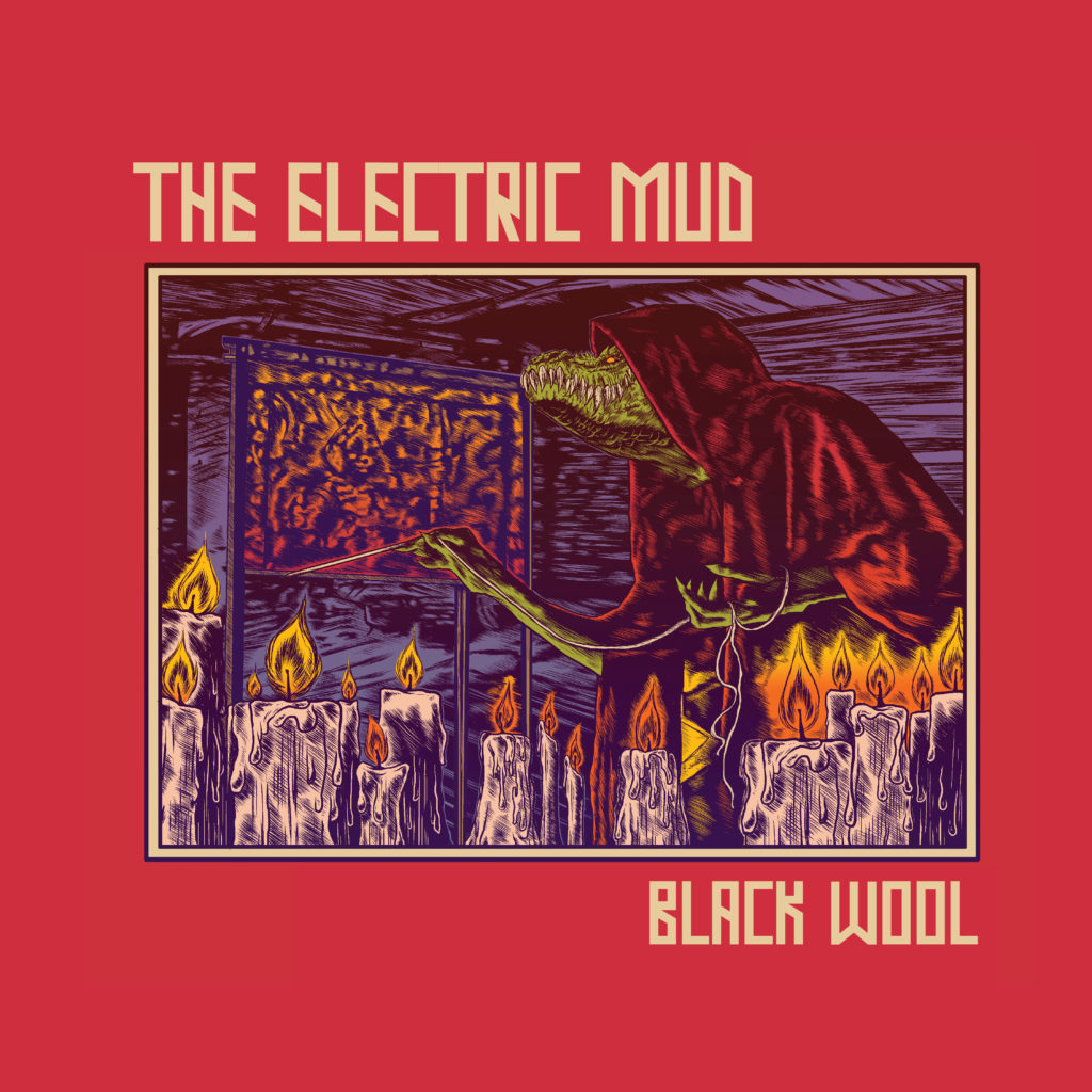 THE ELECTRIC MUD BLACK WOOL