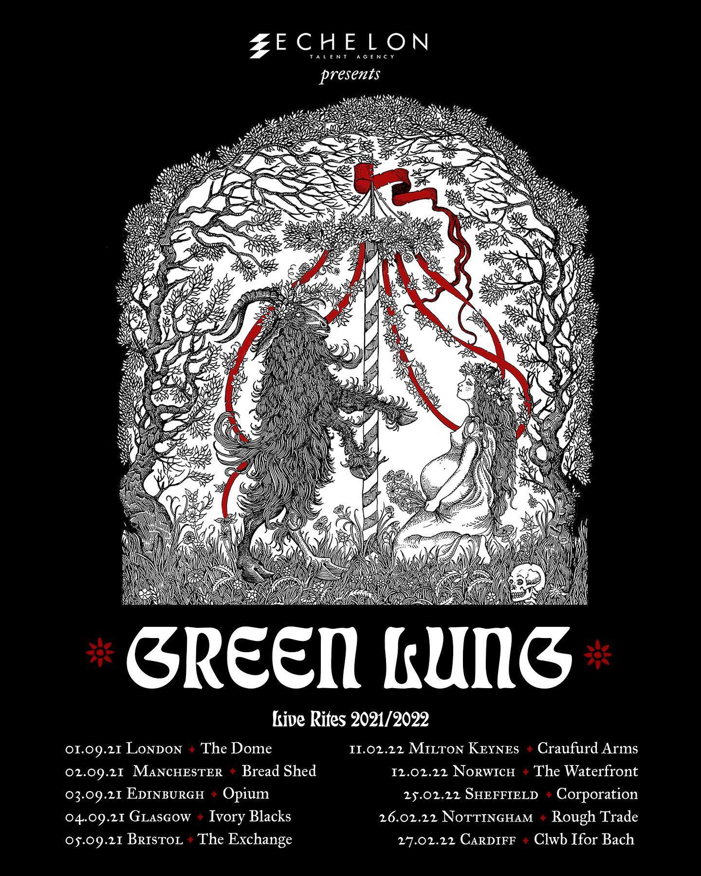 green lung tour dates