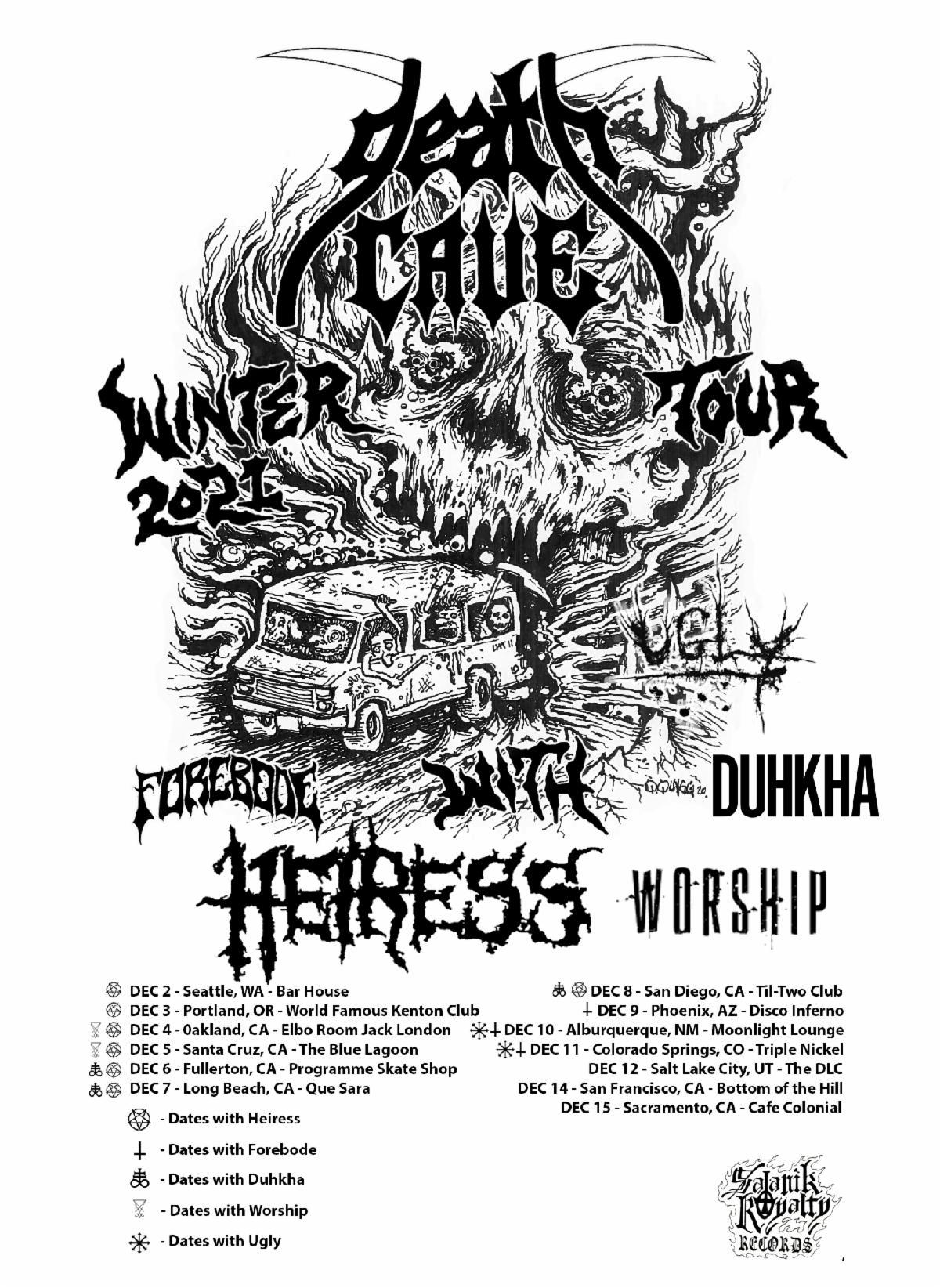 DEATHCAVE TOUR