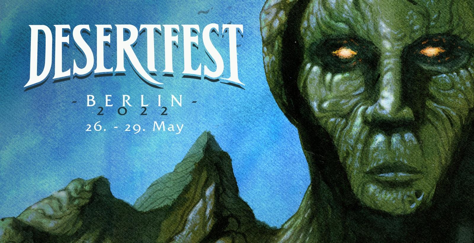 Desertfest Berlin 2022 banner