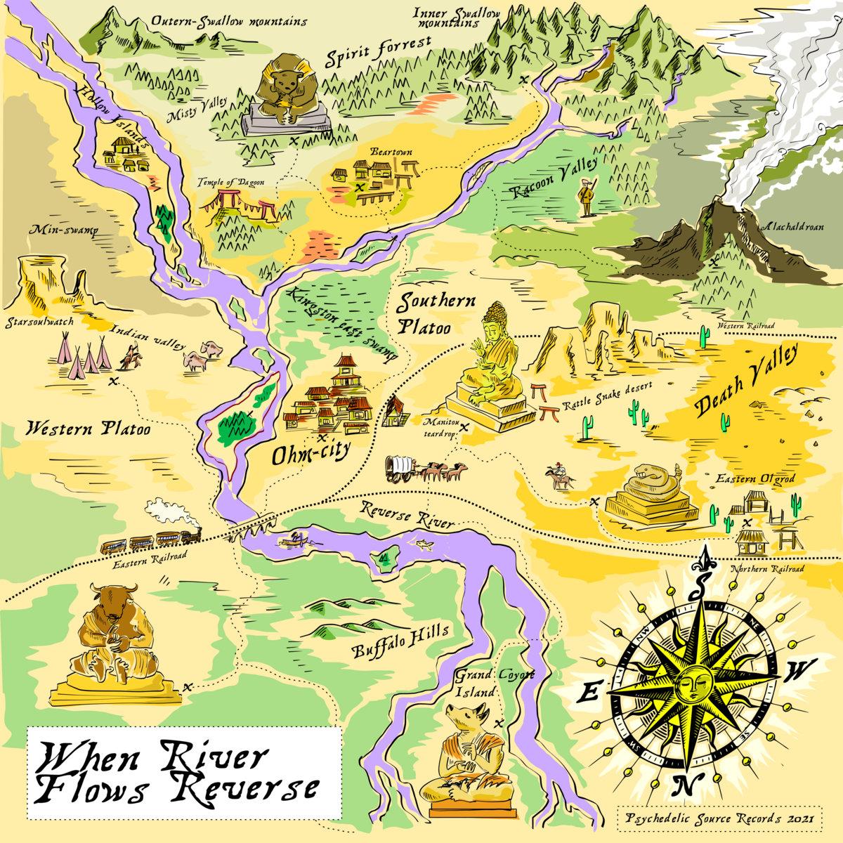 River Flows Reverse When River Flows Reverse