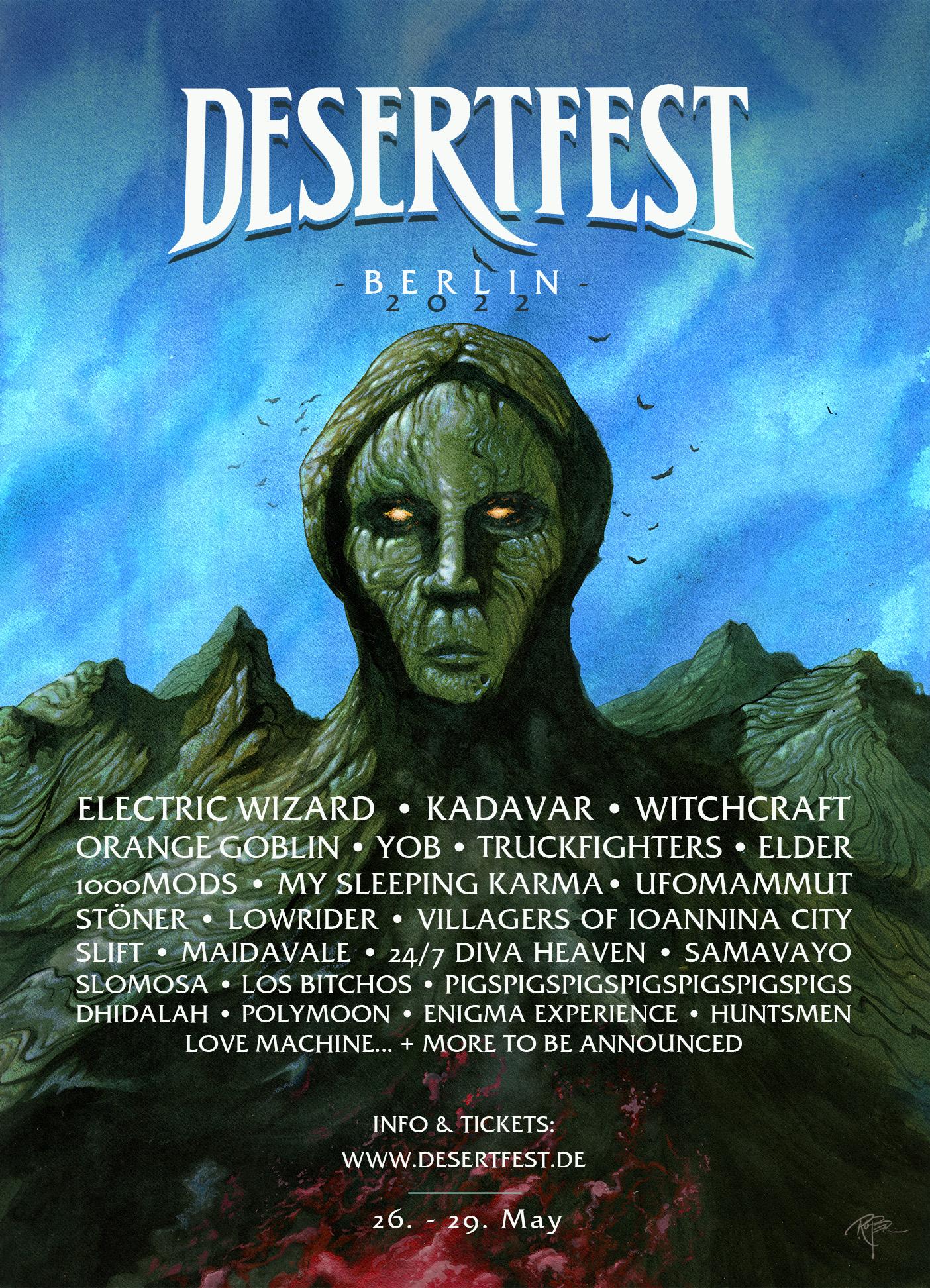desertfest berlin 2022 poster