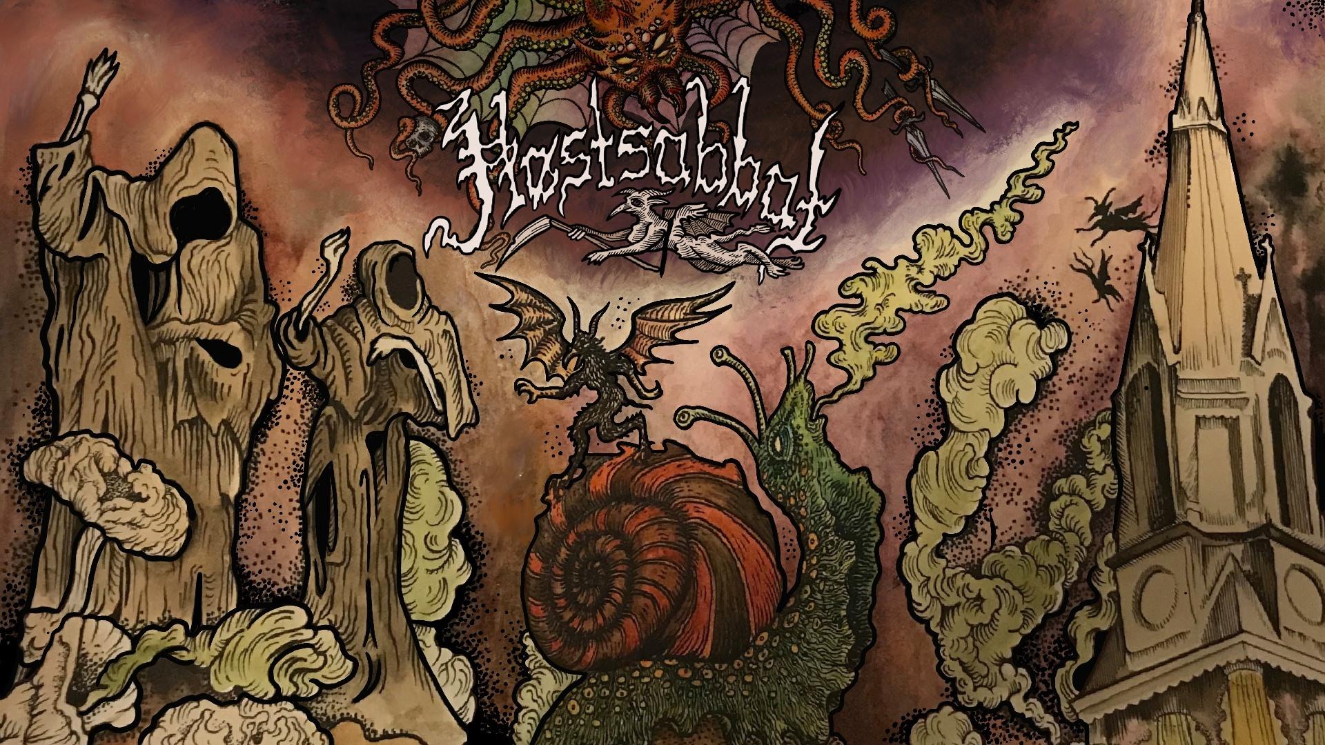hostsabbat 2021 banner (Artwork by Trine Grimm and Linda K Røed)
